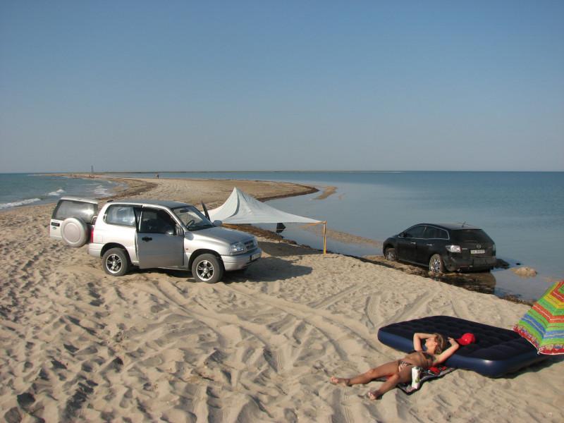 К морю на машине где отдохнуть